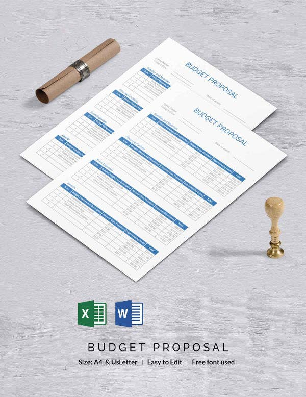 Budget Proposal Template