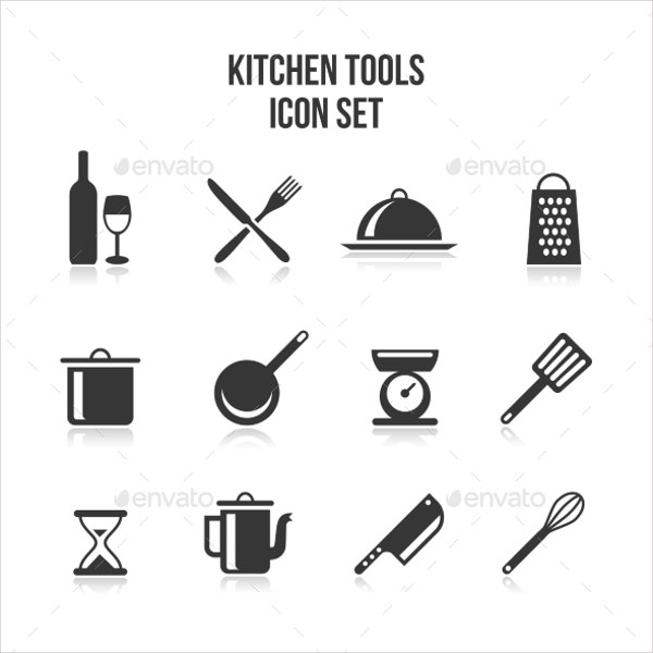 kitchen and cooking icons1