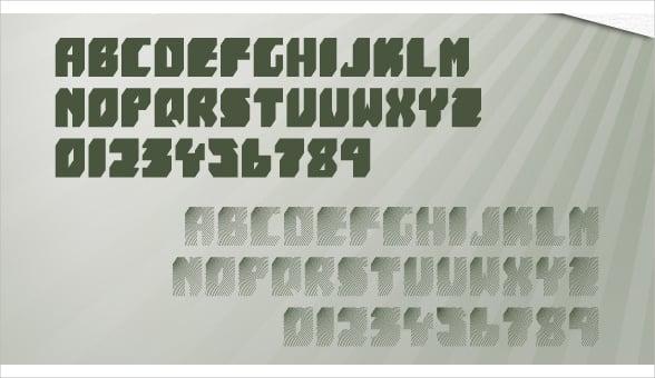modern-block-font
