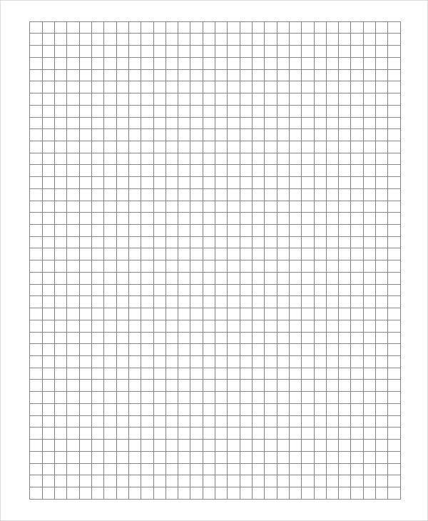 ledger graph paper template