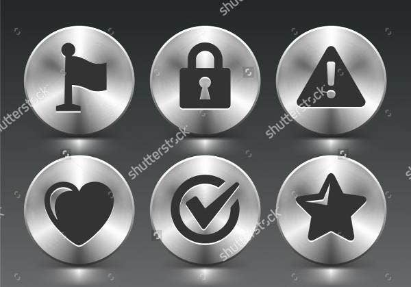 silver-rounded-buttons