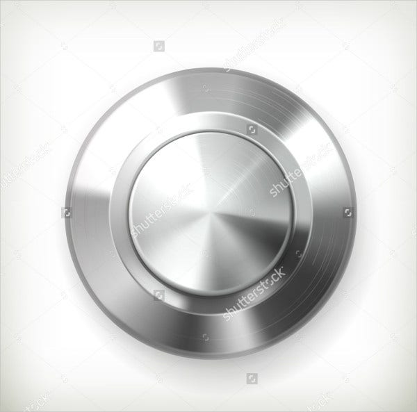 3D Metal Button