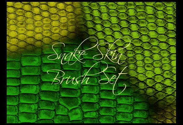 snake skin brushes photoshop