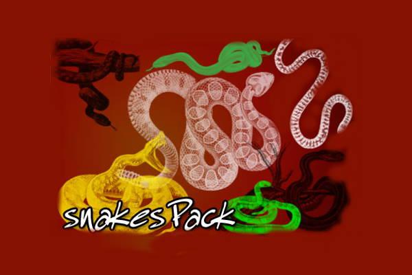 snakes-halloween-brushes