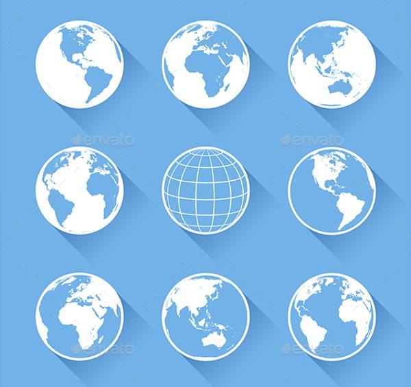 vector-globe-icons