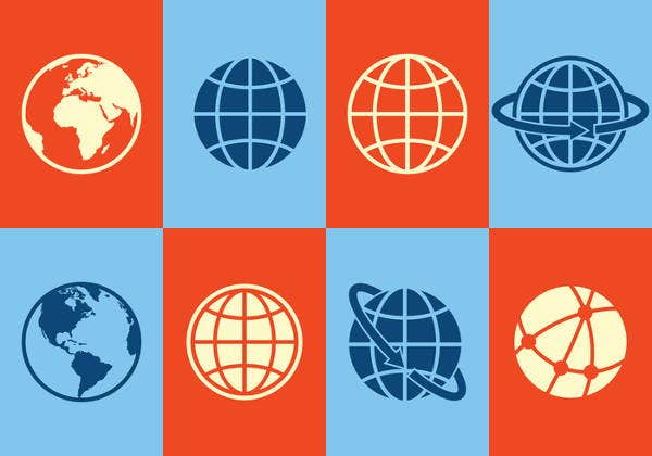 colorful-globe-icons