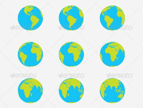earth-globe-vector