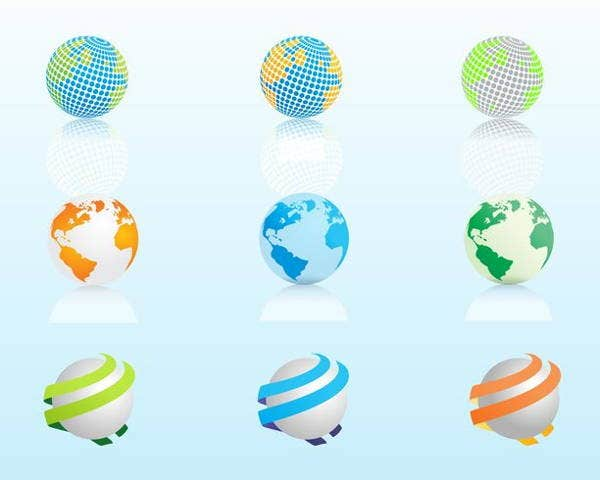 world-globe-vector