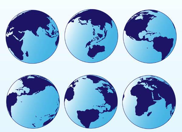 free-globe-vector