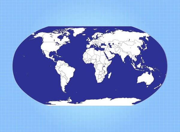 globe-map-vector