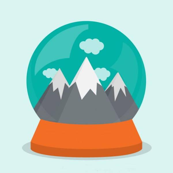 vector-snow-globe
