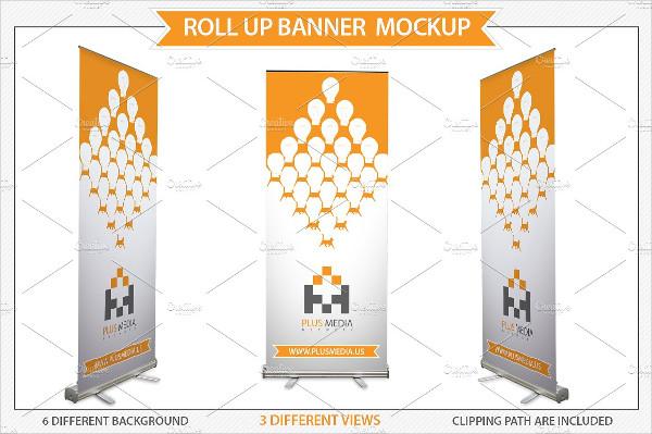 Rollup Presentation Banner Mockup