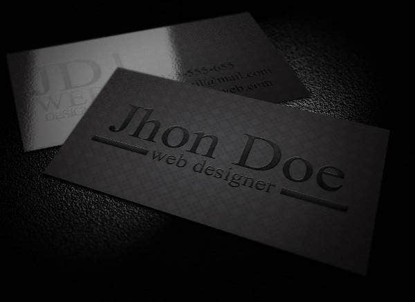 elegant-black-business-card