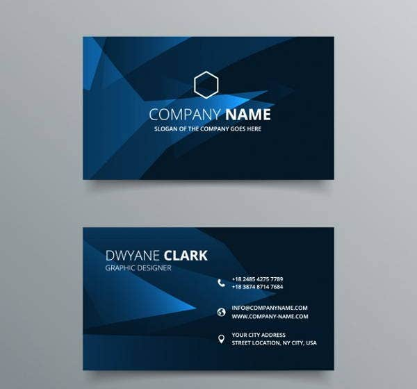 elegant-company-business-card