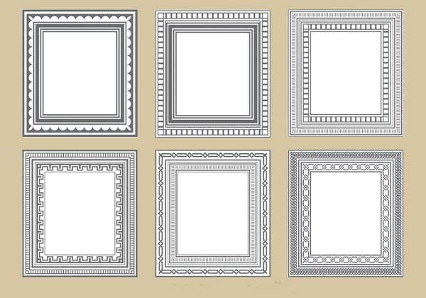 frame shape vector