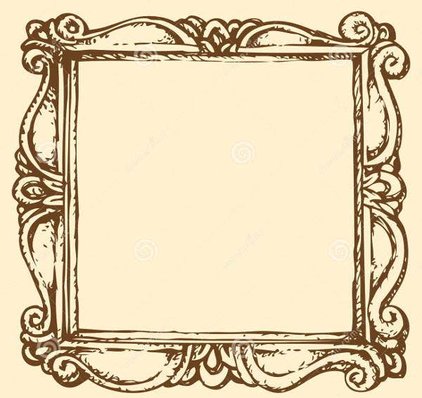 antique-frame-vector