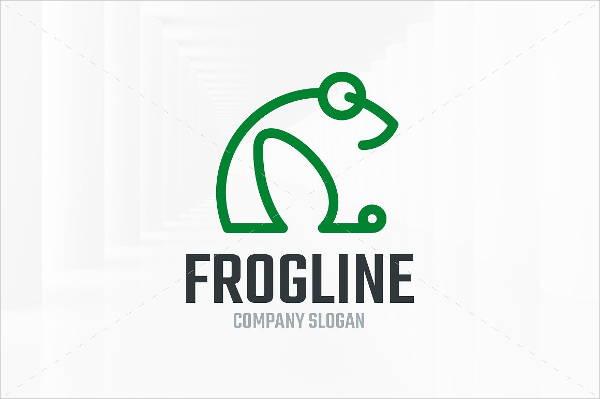 frog-line-logo-design