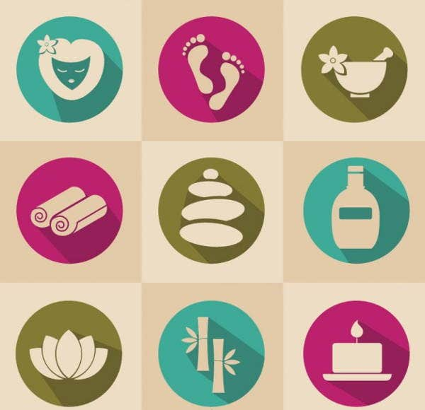 spa-vector-icons-set