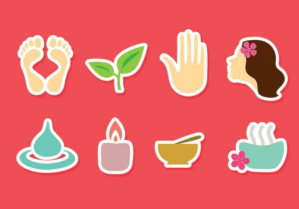 colorful-flat-spa-icons