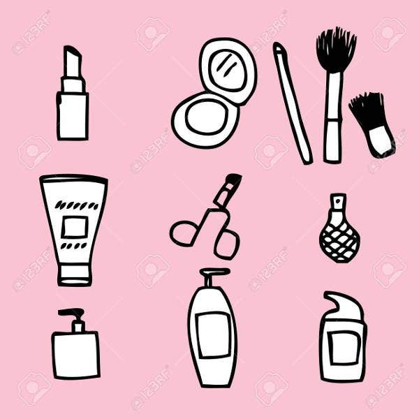hand-drawn-cosmetic-icons