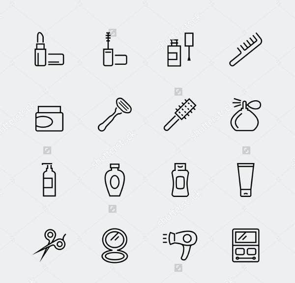 cosmetic-line-icons