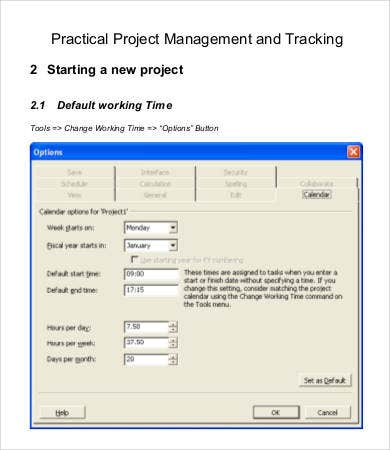 Project Tracking Template - 9+ Free Word, Pdf Documents Download