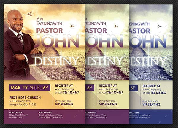 church-conference-flyer