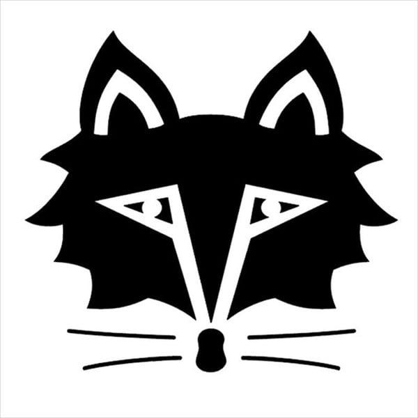fox racing silhouette