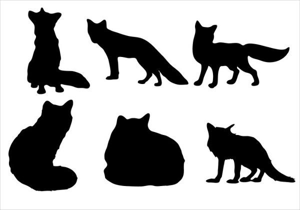 free-fox-silhouette
