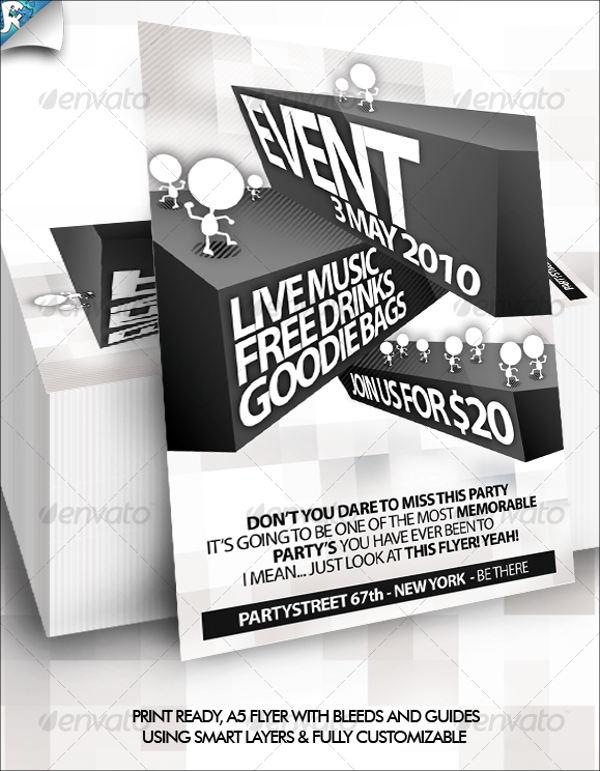 block club party flyer
