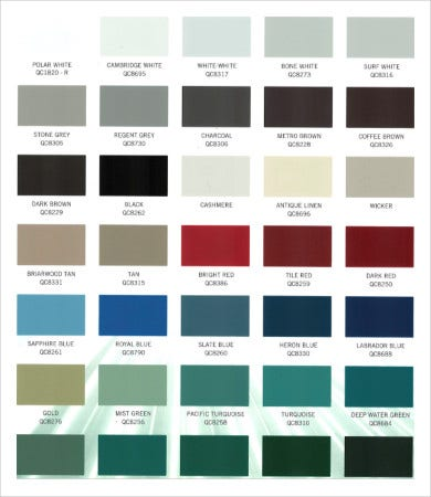Color Temperature Chart 9 Free Pdf Documents Download Free