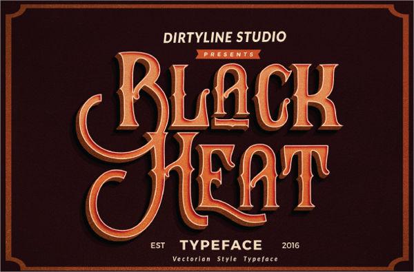 vintage-word-font