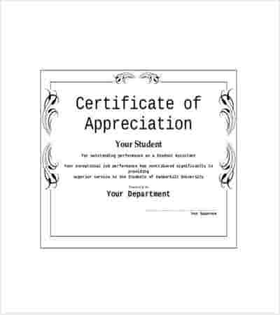student appreciation award template min