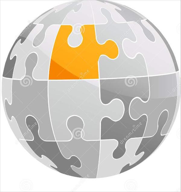puzzle-globe-logo