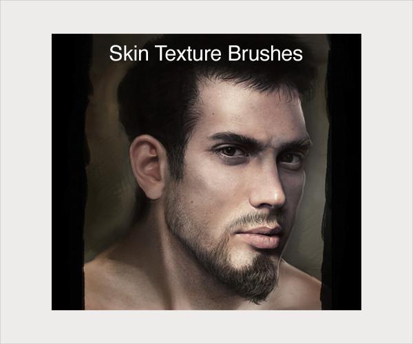 skin texture brushes