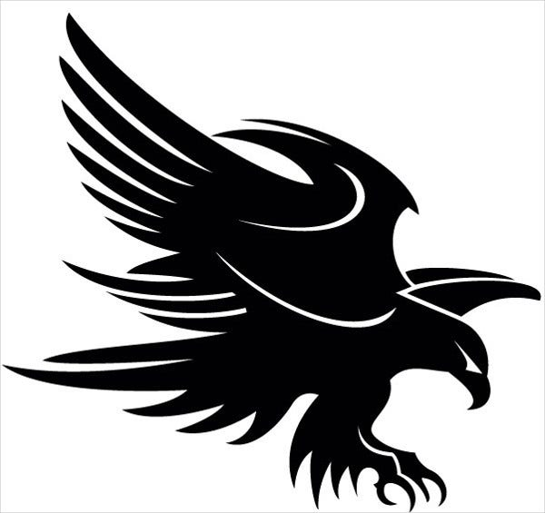 eagle art vector