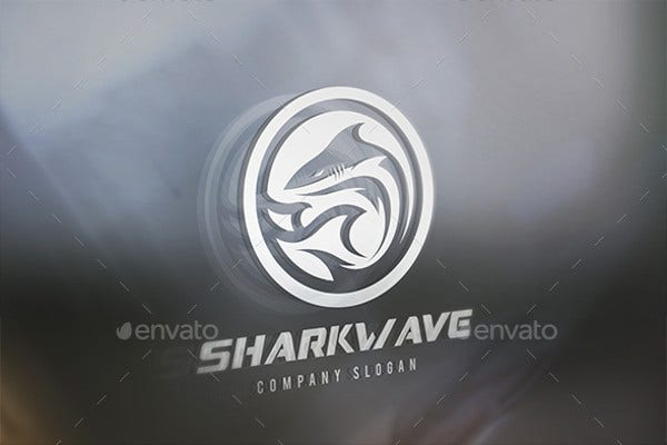 abstract-minimal-shark-wave-logo