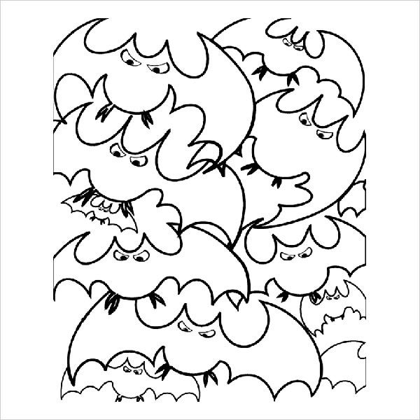 Cool Halloween Coloring Page