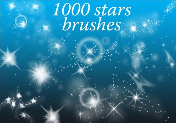 Vector Star Brushes