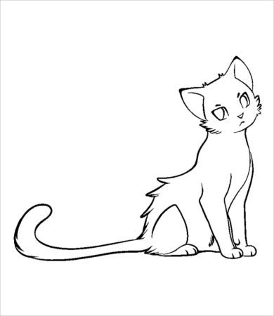 Cat Coloring Page 9 Free Pdf Jpg Format Download Free Premium
