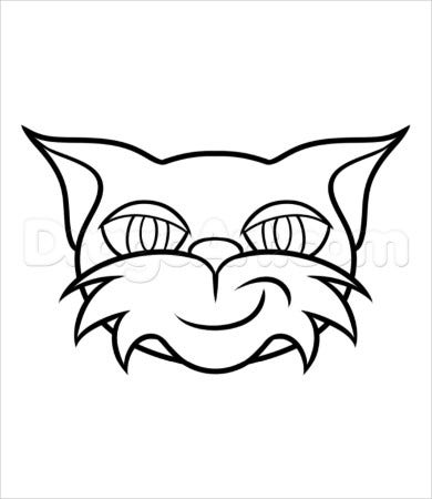 stampy cat coloring page