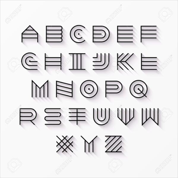 Modern Hipster Font