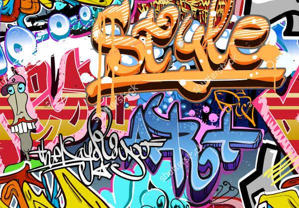 Vector Graffiti Texture