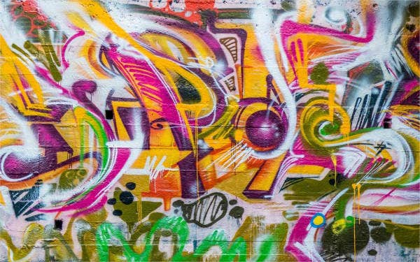 Graffiti Wall Texture