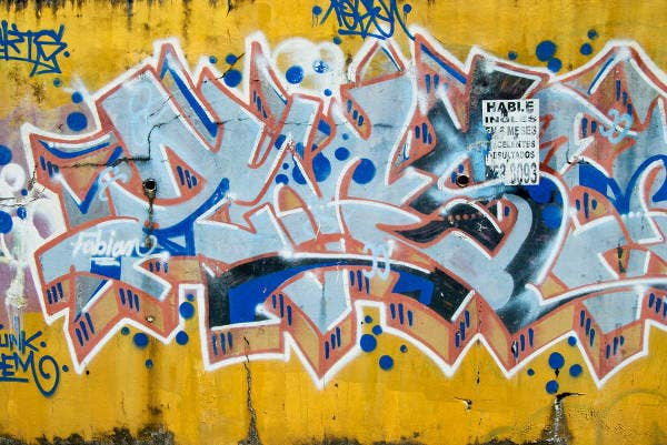 abstract graffiti texture