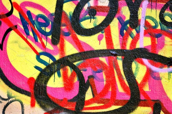 abstract graffiti background