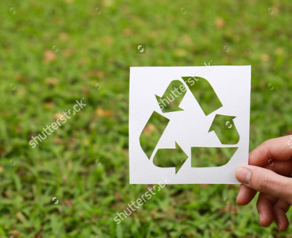 paper logo of recycle