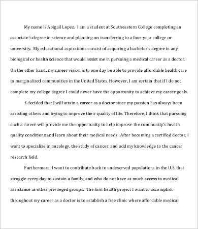 Scholarship essay template 7 free word pdf documents download
