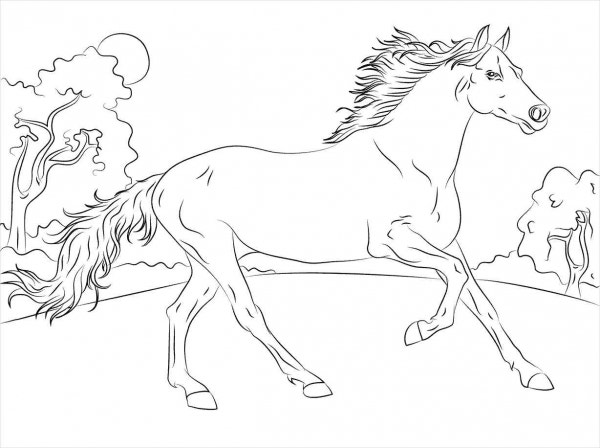 9+ Horse Coloring pages - Free PDF Document Download ...