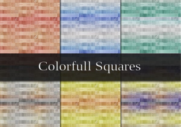 cool squares brushes